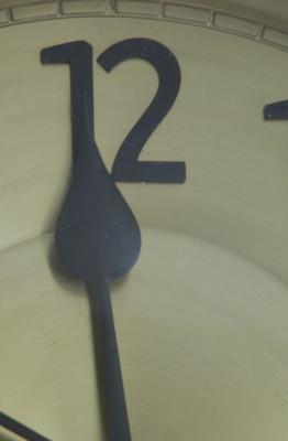 12 - o - clock